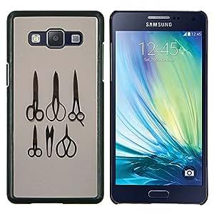 EJOOY---Cubierta de la caja de protección para la piel dura ** Samsung Galaxy A5 A5000 ** --Tijeras más