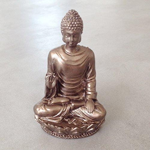 Small Shakyamuni Buddha Decorative Figurine, Made of Resin