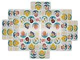 bubble guppies sheets - Bubble Guppies Party Favors - 20 sheets 120 Count