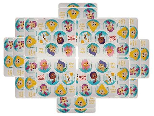 Bubble Guppies Party Favors - 20 sheets 120 Count -