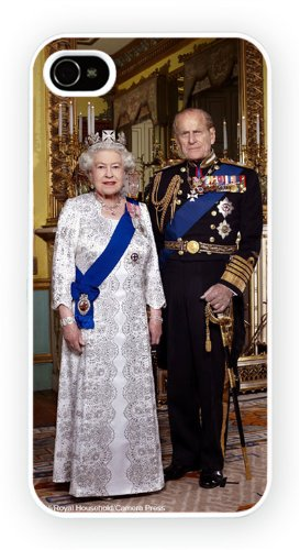 Queen Elizabeth II jubilee, iPhone 4 4S, Etui de téléphone mobile - encre brillant impression