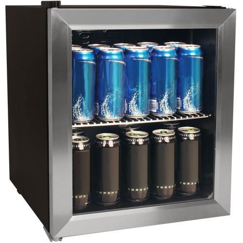 Stainless Steel Can Cooler ~ Edgestar can beverage cooler stainless steel food