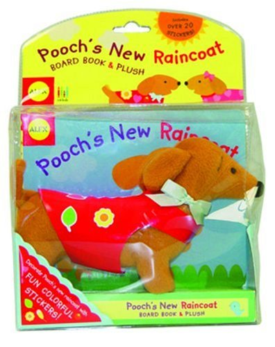 Plush Dog Coat (Alex Toys: Pooch's New Raincoat)