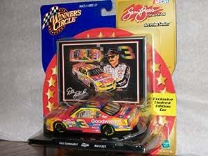WINNER'S CIRCLE DALE EARNHARDT NASCAR TOY CAR (SAM BASS ART PRINT SERIES