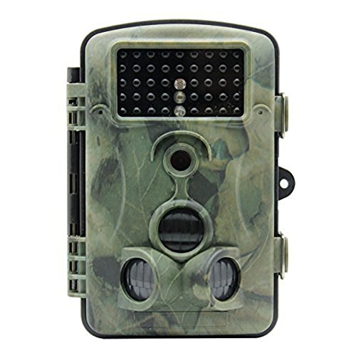 Game Cameras 1080P HD 120 Degree Wide Angle Ip54 Waterproof Hunting Trail Scouting Camera with 42 Pcs IR Leds