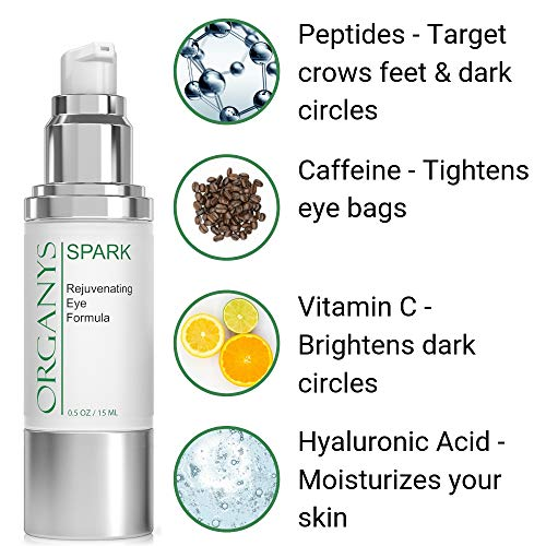 Eye Cream for Dark Circles Eye Bags and Crows Feet