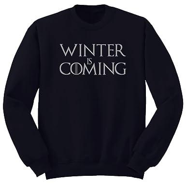 ClickInk Sudadera Winter is Coming. Tributo Juego de Tronos. Sudadera de Hombre Afelpada.: Amazon.es: Ropa y accesorios