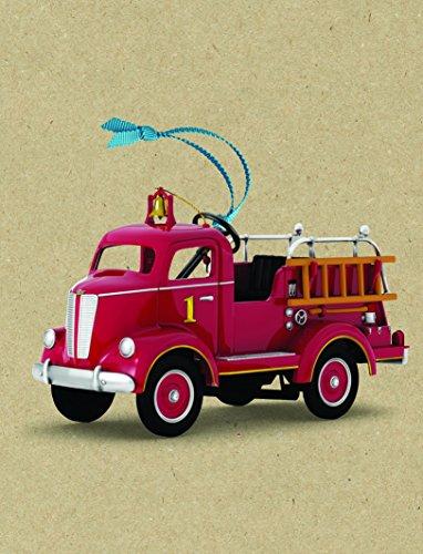 Hallmark Keepsake 1945 Gillham Fire Engine Kiddie Car Ornament