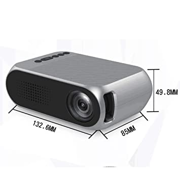 WAN Mini proyector, Multimedia Home Theater proyector de ...