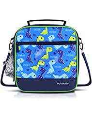 Set Of 30 Kids Boy Insulated Lunch Bag L Dark Blue