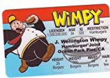 Wimpy Aka J. Wellington Wimpy From Popeye the Sailor Man Novelty Drivers License / Fake I.d. Identification for Popeye and Friends / Sweet Pea Fans