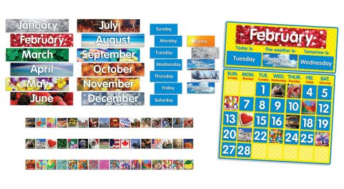(Scholastic Photo Calendar Bulletin Board (TF8019))
