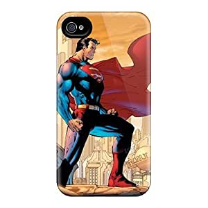 Protector Cell-phone Hard Cover For Iphone 6plus With Allow Personal Design Vivid Superman Skin JasonPelletier