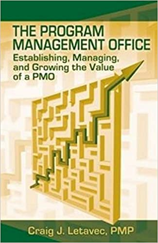 the program management office establishing managing and growing the value of a pmo