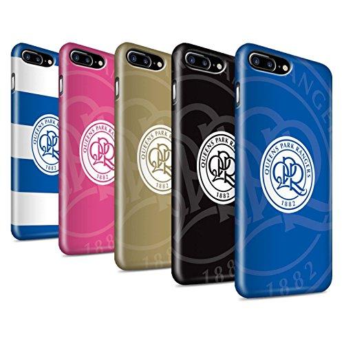 Offiziell Queens Park Rangers FC Hülle / Glanz Snap-On Case für Apple iPhone 7 Plus / Pack 11pcs Muster / QPR Fußball Crest Kollektion