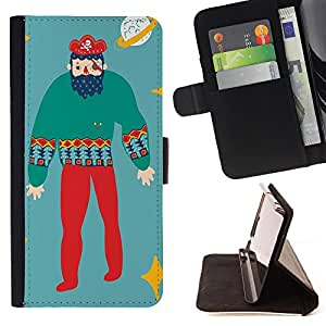Dragon Case - FOR Samsung Galaxy A3 - Earth people are stupid - Caja de la carpeta del caso en folio de cuero del tir¨®n de la cubierta protectora Shell