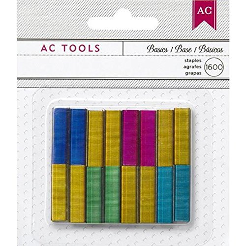 (American Crafts 1600-Staple DIY Shop Stapler Refills, Mini,)