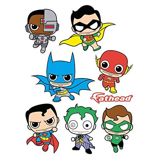 Fathead DC Comics Kids Collection Vinyl Decals -