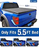 Tyger Auto T1 Roll Up Truck Bed Tonneau Cover TG-BC1F9022 Works with 2009-2014 Ford F-150 (Excl. Raptor Series) | Styleside 5.5 Bed | for Models Without Utility Track System