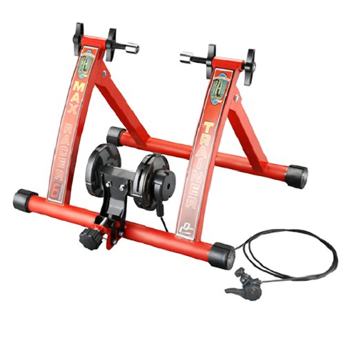 1113 RAD Cycle Products Max Racer 7 Levels of Resistance Portable Bicycle Trainer Work Out Machine 8
