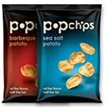 Popchips 2-flavor Variety Pack, 0.8 Oz Servings (Pack of 30)