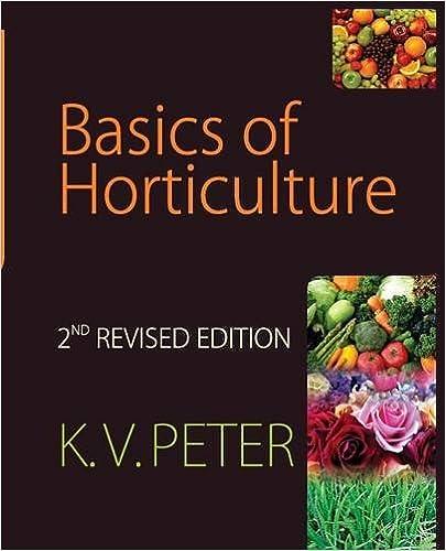 Book Basics of Horticulture