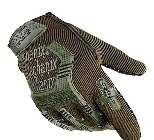 GALIOK Handschuh Angelhandschuhe rutschfeste verschleißfeste Herren Outdoor Sports Bike Climbing Kletterhandschuhe M Army Green Herren Handschuhe