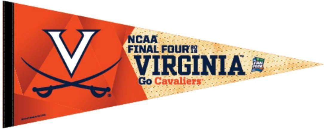 WinCraft バージニアキャバリアーズ 2019 NCAA メンズ バスケットボール ファイナルフォーマーチ マッドネス ペナント