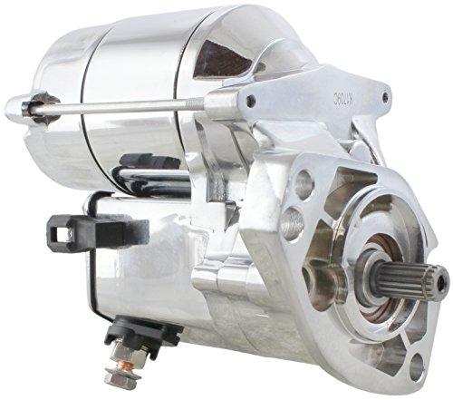 New Chrome Starter for Harley Davidson Softail, Fat Boy, Road King, Screamin Eagle, Dyna, Night Train, etc 1340,1450,1550,1338,1638cc 1993-2006 228000-2550 228000-2551 228000-2552 31570-89 31570-89A