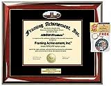 Diploma Frame University of Puget Sound Graduation Gift Idea UPS Engraved Picture Frames Engraving Degree Certificate Holder Graduate Him Her Nursing Business Engineering Education School