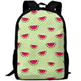Summer Waterlemon Double Shoulder Backpacks For Adults Traveling Bags Full Print Fashion