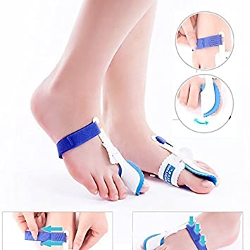 1 Pair of Hallux Valgus Rails for Sleeping and Resting, for Prevention, Therapy,