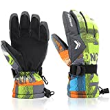 Ski Gloves,RunRRIn Winter Warmest Waterproof and Breathable...