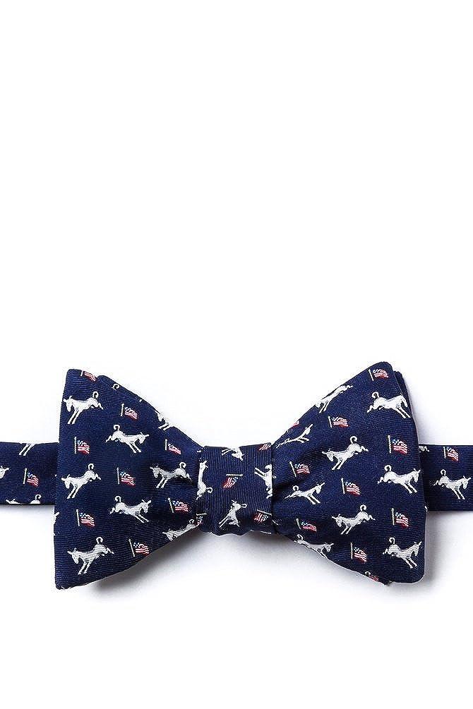 Democratic Donkeys Self Tie Bow Tie