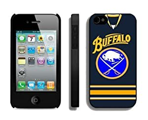 Custom Iphone 4/4s Case NHL Buffalo Sabres 2 Phone Hard Cover