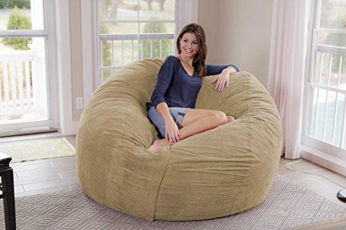 51pimiKxj4L - Chill-Sack-Bean-Bag-Chair-Giant-7-Memory-Foam-Furniture-Bean-Bag-Big-Sofa-with-Soft-Micro-Fiber-Cover