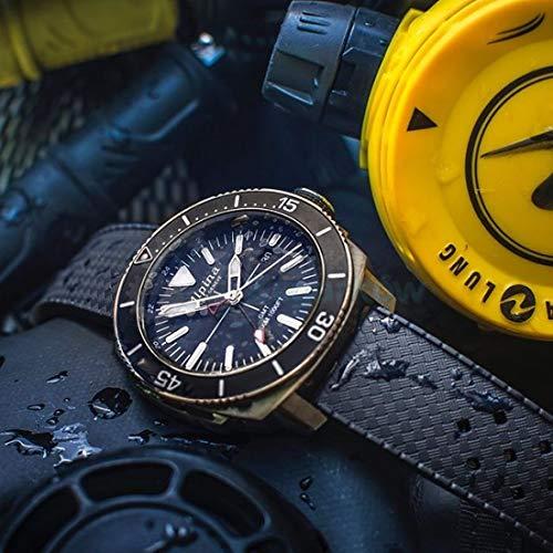 Alpina Geneve Seastrong Quartz GMT AL-247LNN4TV6 herrarmbandsur