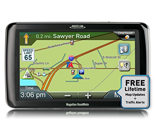 Magellan RoadMate Commercial 9261T-LM with Lifetime Traffic and Maps GPS Navigator by Magellan