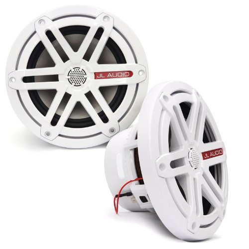 "MX650-CCX-SG-WH - JL Audio 6.5"" 2-Way Marine Cockpit Coaxial MX Series Speakers (White)"