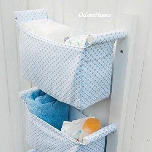 Nursery Storage Baskets - Kids Room Storage Nursery Bins - Diaper Caddy Wall Organizer - Change & Nursery Storage Baskets - Kids Room Storage Nursery Bins - Diaper ...