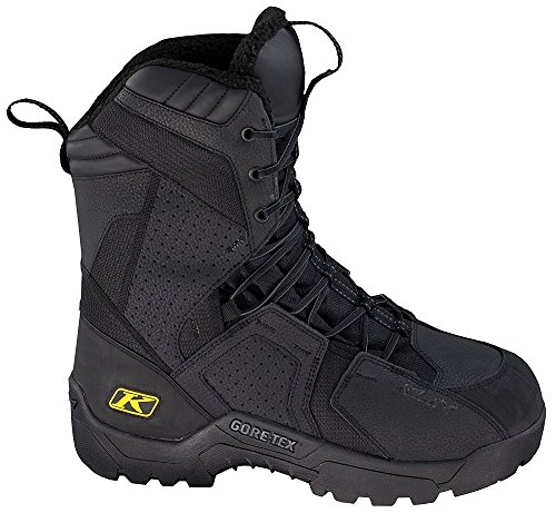 Klim Arctic GTX Men's Snocross Snowmobile Boots - Black / Size 7
