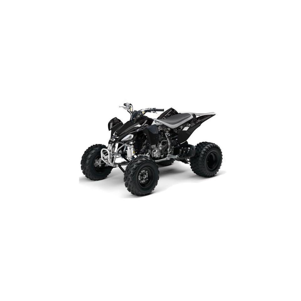 AMR Racing 2004 2008 Yamaha YFZ 450 ATV Quad, Graphic Kit   Toxicity Black,