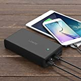 AUKEY 30000mAh Power Bank, Portable Charge with