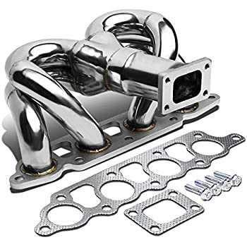 For Ford Focus/Escape 2.0 Stainless Steel T25 Ram Horn Turbo Exhaust Manifold