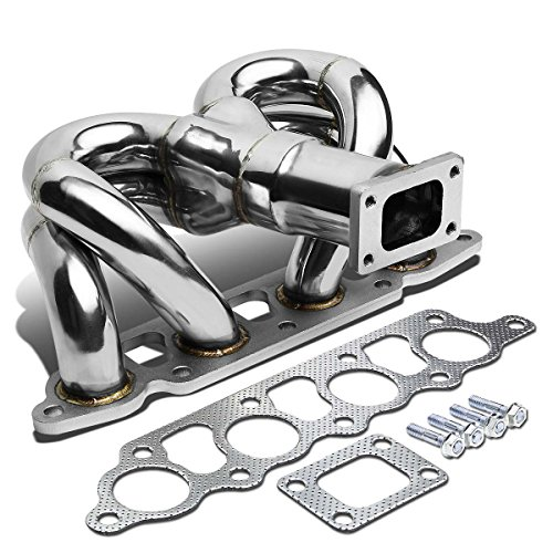 For Ford Focus/Escape 2.0 Stainless Steel T25 Ram Horn Turbo Exhaust (Ford Focus Header)