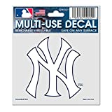 yankee window decal - MLB New York Yankees 84487010 Multi-Use Decal, 3