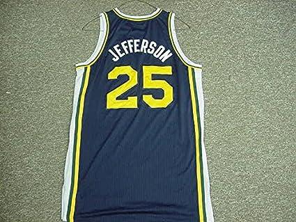 6696302cdad Al Jefferson Utah Jazz 2011-12 Game Worn Road Jersey at Amazon s ...