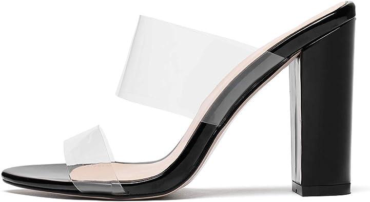 Amazon.com | YODEKS Women's Block Heel
