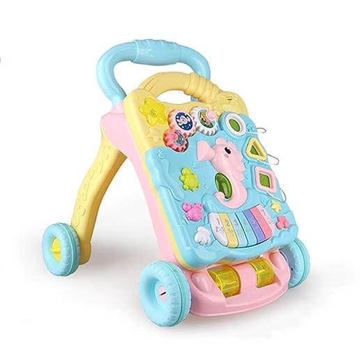Axdwfd - Andador para bebé con Ruedas, multifunción ...