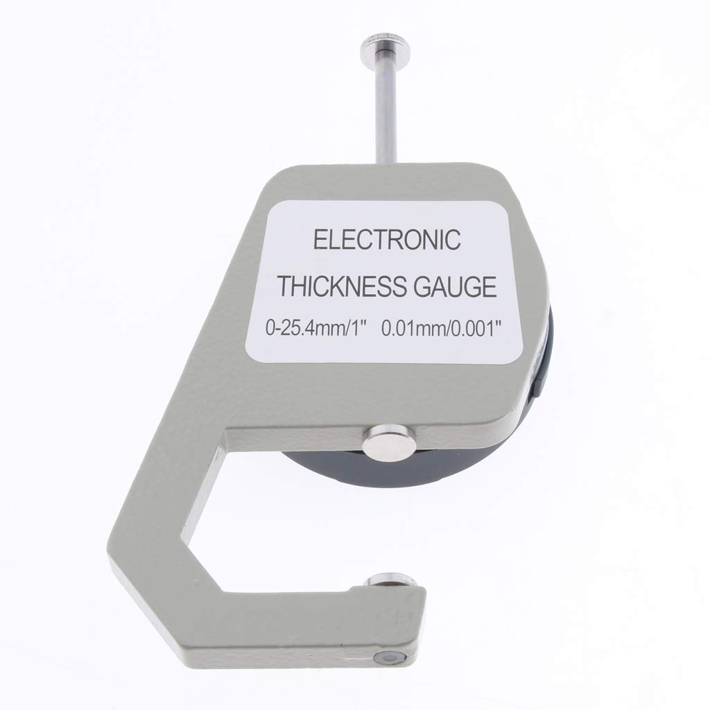 Thickness & Feeler Gauges 0.5 Inch Digital Electronic Thickness Gauge LCD Display Thickness Gauge Measuring Tool Tubayia 0-12.7mm